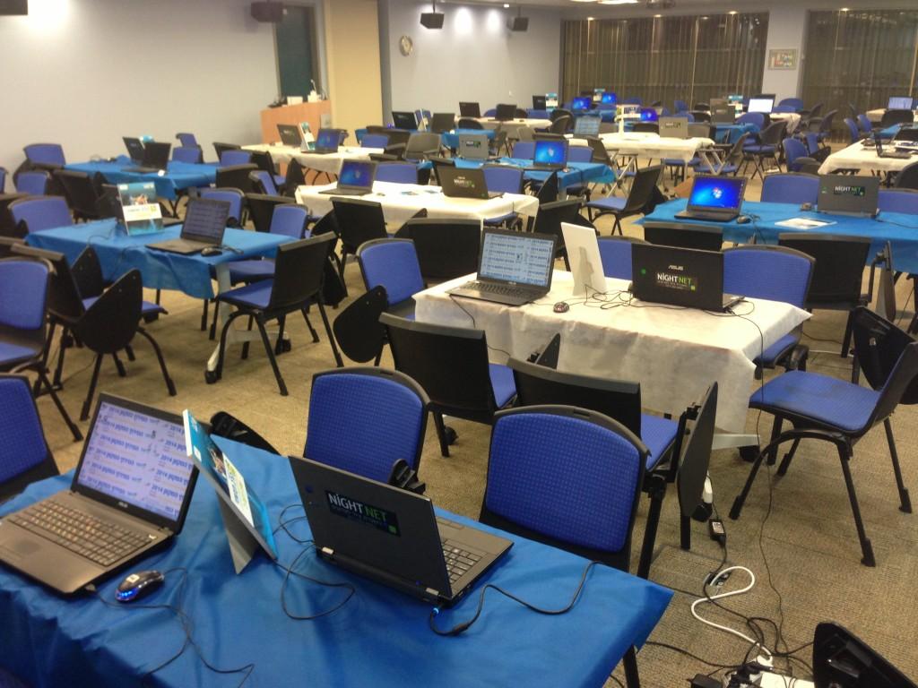 אירוע השכרת מחשבים לרשת עמל בסיסקו